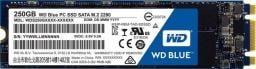 Dysk SSD Western Digital Blue 250 GB M.2 2280 SATA III (WDBK3U2500ANC-WRSN)