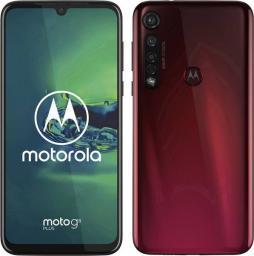 Smartfon Motorola Moto G8 Plus 64 GB Dual SIM Czerwony  (PAGE0003DE)