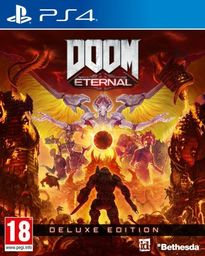 Doom Eternal Deluxe Edition  PS4 PL + DLC