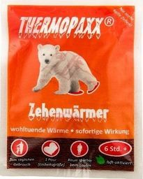 Thermopaxx Ogrzewacze do palców stóp THERMOPAXX Toe Warmer Uniwersalny