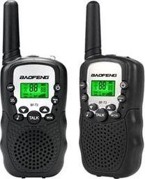Krótkofalówka Baofeng Zestaw dwa radia PMR Baofeng BF-T3 black
