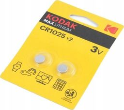 Kodak Bateria Max CR1025 2szt.