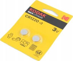 Kodak Bateria Max CR1220 2szt.