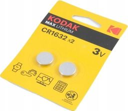 Kodak Bateria Max CR1632 2szt.