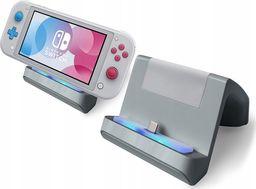 MARIGames Ładowarka Podstawka Stacja Dokująca 2w1 Do Nintendo Switch Lite - Szara