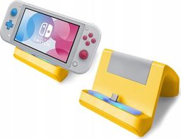 MARIGames Ładowarka Podstawka Stacja Dokująca 2w1 Do Nintendo Switch Lite - Żółta