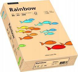 Papyrus Papier ksero Rainbow A4 80g łososiowy 500 arkuszy