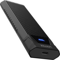 Kieszeń Unitek USB3.1-Typ-C na M.2 SSD NVMe czarny (S1203ABK)