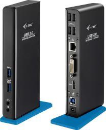 Stacja/replikator I-TEC USB 3.0 Dual Docking Station + USB Charging Port 4x USB 2.0 2x USB 3.0 (U3HDMIDVIDOCK)