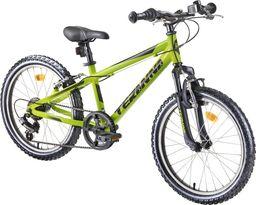 "DHS Dziecięcy rower górski junior DHS Teranna 2423 24"" - model 2019 Kolor Niebieski"