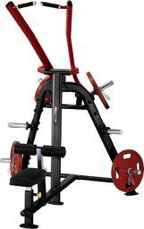 Steelflex Maszyna do mięśni pleców i ramion Steelflex PlateLoad Line PLLA Kolor Szary