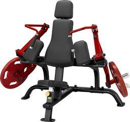 Steelflex Maszyna na mięśnie tricepsów Steelflex PlateLoad Line PLTE Kolor Czarno-czerwony