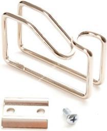 Linkbasic uchwyt do kabli do szaf rack 19''/10'' Metalowy (CFH01-1-B)