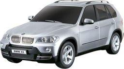 Rastar BMW X5 1:18 RTR (zasilanie na baterie AA) - Srebrny