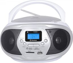 Radioodtwarzacz Trevi Boombox Trevi CMP548 CD bluetooth USB SD Radio MP3 white
