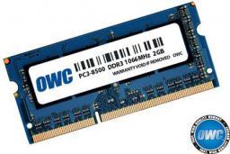 Pamięć dedykowana OWC SO-DIMM DDR3 2GB 1066MHz CL7 Apple Qualified (OWC8566DDR3S2GB)