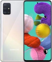 Smartfon Samsung Galaxy A51 128 GB Dual SIM Biały  (SM-A515FZWVEUE)