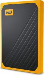 Dysk zewnętrzny Western Digital SSD My Passport Go 1 TB Czarno-Żółty (WDBMCG0020BYT-WESN)