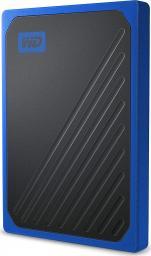 Dysk zewnętrzny Western Digital SSD My Passport Go 1 TB Czarno-niebieski (WDBMCG0020BBT-WESN)