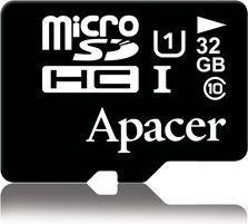 Karta Apacer Secure Digital MicroSDHC 32 GB Class 10 UHS-I  (AP32GMCSH10U1-R)