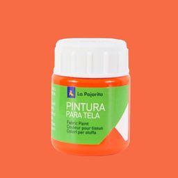 La Pajarita Farba do Tkanin 25 ml Pomarańczowa