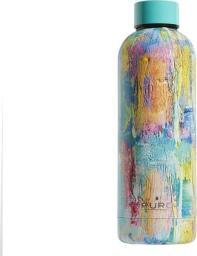 Puro Butelka termiczna Hot&Cold 500ml StreetArt - Paint Light Blue