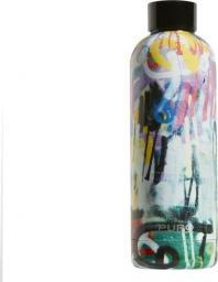 Puro Butelka termiczna Hot&Cold 500ml StreetArt - Graffiti Black