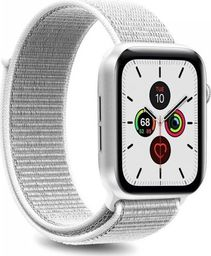 Puro PURO Apple Watch Band - Nylonowy pasek do Apple Watch 42 / 44 mm (Biały)