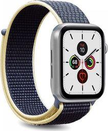 Puro PURO Apple Watch Band - Nylonowy pasek do Apple Watch 42 / 44 mm (Niebieski)