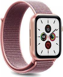 Puro PURO Apple Watch Band - Nylonowy pasek do Apple Watch 42 / 44 mm (Różowy)