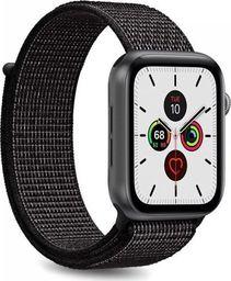 Puro PURO Apple Watch Band - Nylonowy pasek do Apple Watch 42 / 44 mm (Czarny)