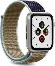 Puro PURO Apple Watch Band - Nylonowy pasek do Apple Watch 42 / 44 mm (Khaki/Granatowy)