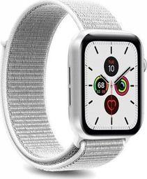 Puro PURO Apple Watch Band - Nylonowy pasek do Apple Watch 38 / 40 mm (Biały)
