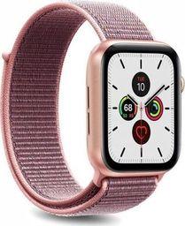 Puro PURO Apple Watch Band - Nylonowy pasek do Apple Watch 38 / 40 mm (Różowy)