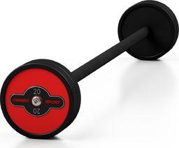 Marbo Sport Steel Rubber Barbell 20 kg - Marbo Sport