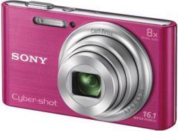 Aparat cyfrowy Sony DSC-W830P Różowy (DSCW830P.CE3)