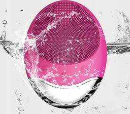Roneberg Silikonowa szczoteczka do mycia twarzy z jonoforezą ciemnoróżowa