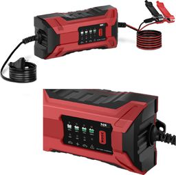 MSW Prostownik akumulatorowy samochodowy przenośny 70 W 6/12 V 2/2 A