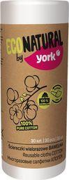 York Ściereczki Wielorazowe Bawełniane 30 sztuk EcoNatural uniwersalny