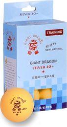 Giant Dragon Piłeczki do ping ponga Silver Star* 6 sztuk (8341)