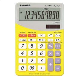 Kalkulator Sharp SHARP CALCULATOR DESKTOP BLISTER ELM332BYL