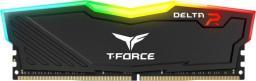 Pamięć Team Group Delta RGB DDR4 4GB 2400MHz Czarna (TF3D44G2400HC15B01)