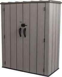 LIFETIME szopa ogrodowa premium 136x70 brązowa (60209)
