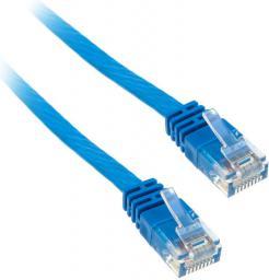 InLine 3m  kabel sieciowy U/UTP  1000 Mbit  Cat.6  RJ45  niebieski  (71603B)