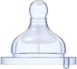 Chicco Smoczek antykolkowy silikonowy WellBeing - przepływ szybki 4m+ 2 sztuki (208452)