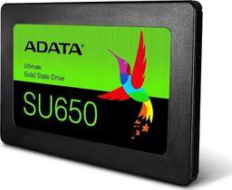 Dysk SSD ADATA Ultimate SU650 120 GB 2.5'' SATA III