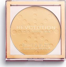 Makeup Revolution Bake & Blot Puder prasowany Banana Deep 5.5g