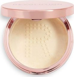 Makeup Revolution Conceal & Fix Setting Powder Puder sypki Light Yellow 13g