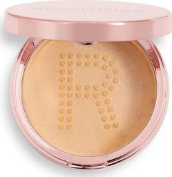 Makeup Revolution Conceal & Fix Setting Powder Puder sypki Medium Beige 13g