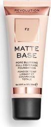 Makeup Revolution Matte Base Foundation F2 28ml